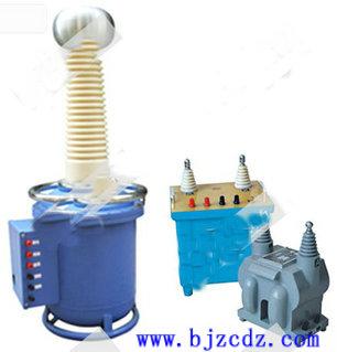 简介 标准电压互感器 1,结构紧凑,体积小,携带方便 2,不需维护,接线