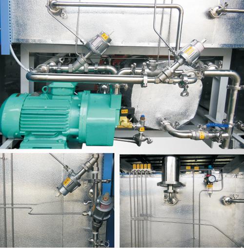 plc控制气动阀实物接线图